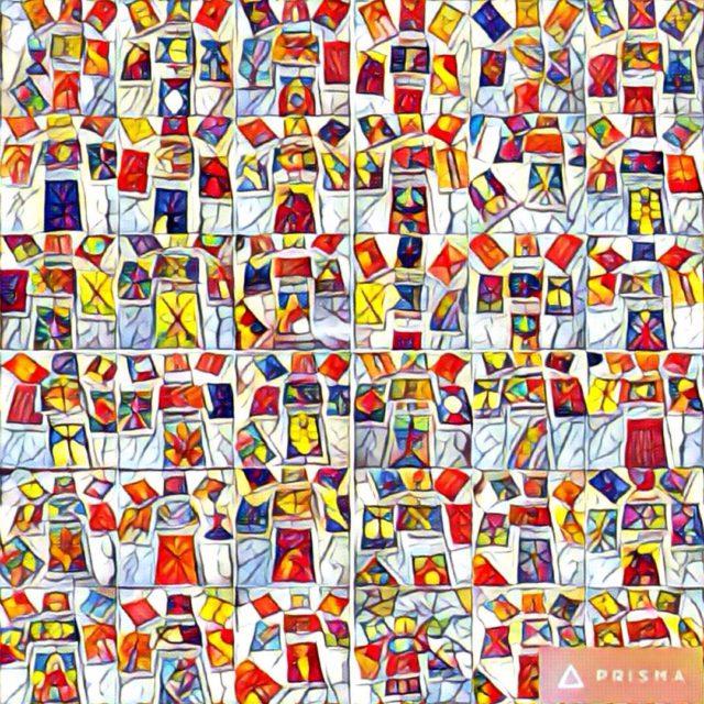 tarot collage
